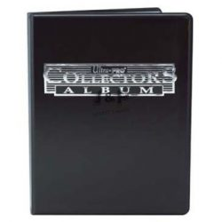 Ultra Pro portfolio album 9 zsebes, 10 lapos - fekete