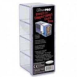 Ultra Pro 4 rekeszes kártyatároló doboz