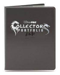 Ultra Pro Album Gaming Collectors portfólió 9-es mappa Gaming Collectors - fekete