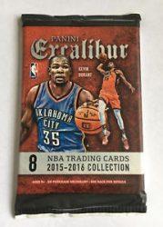 2015-16 Panini Excalibur Basketball Retail / alap kosaras kártya csomag