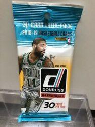 2018-19 Panini Donruss Basketball Jumbo kosaras kártya csomag