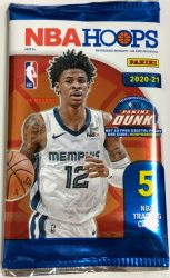 2020-21 Panini NBA Hoops Basketball Dollar Tree pack - kosaras kártya csomag