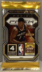 2020-21 Panini Prizm Basketball blaster pack - kosaras kártya csomag