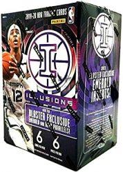2019-20 Panini Illusions Basketball  kosaras kártya Blaster doboz