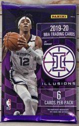 2019-20 Panini Illusions Basketball Blaster Pack - kosaras kártya csomag