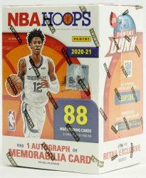 2020-21 Panini NBA Hoops Basketball blaster box - kosaras kártya doboz