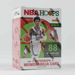 2020-21 Panini NBA Hoops Basketball Winter Holiday Edition blaster box - kosaras kártya doboz