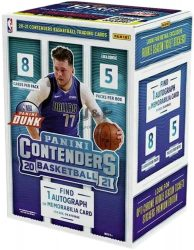 2020-21 Panini Contenders blaster box - kosaras kártya blaster doboz