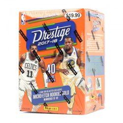 2017-18 Panini Prestige Basketball kosaras kártya blaster doboz