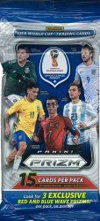 2018 Panini Prizm FIFA World Cup Soccer Jumbo focis kártya csomag