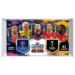 20/21 UEFA Champions League Match Attax focis kártya csomag (DE)