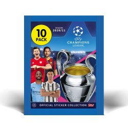 2020/21 UEFA Champions League Match Attax focis matrica csomag (DE)