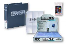 Ultra Pro kártya tartó alap csomag  - kék