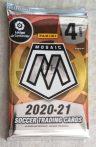 2020-21 Panini Mosaic La Liga Soccer Blaster pack - focis kártya csomag