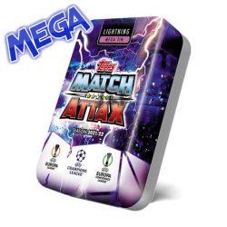 21/22 UEFA Champions League Match Attax focis kártya mega tin blitz