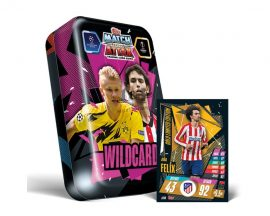 20/21 UEFA Champions League Match Attax mega-tin focis kártya doboz (DE)