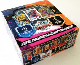 20/21 UEFA Champions League Match Attax focis kártya doboz (DE)