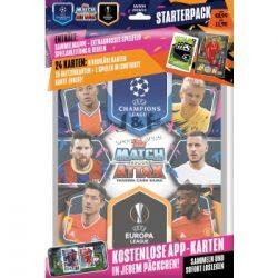 2020/21 UEFA Champions League Match Attax focis kártya starterpack kezdőcsomag ( album + kártya ) (DE)