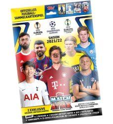 2021/22 UEFA Champions League Match Attax focis kártya starterpack kezdőcsomag ( album + kártya )