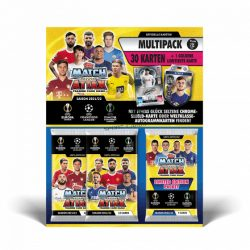 2021/22 UEFA Champions League Match Attax focis kártya multipack