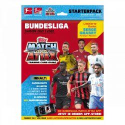 2021/22 Bundesliga Match Attax focis kártya starterpack kezdőcsomag ( album + kártya )