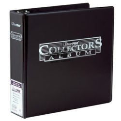 "Ultra Pro Collectors gyűjtő album 3"" vastag - fekete"
