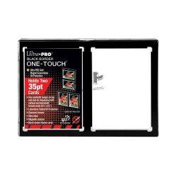 Ultra Pro fekete keret 2 kártyához - One-touch mágneses tok