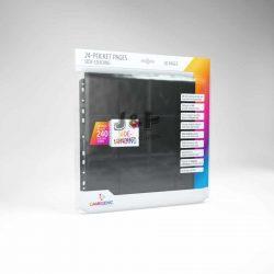Gamegenic 24-Pocket Sideloading Pages - 24 zsebes kártya tartó lap (10 lap / csomag)