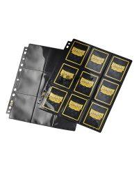 Dragon Shield 18 zsebes kártya tartó mappa lap fényes
