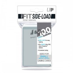 """Ultra Pro Small Sleeves - Pro-Fit Card Vékony kártyavédő fólia """"bugyi"""" Csomag (100db/csomag) - oldalsó nyílású"""