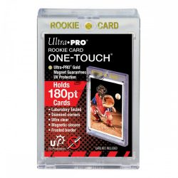 Ultra Pro UV One Touch holder 35pt mágneses kemény tok  fekete kerettel, Black Border