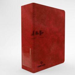 Gamegenic 3 gyűrűs prémium gyűjtőalbum, vastag - piros