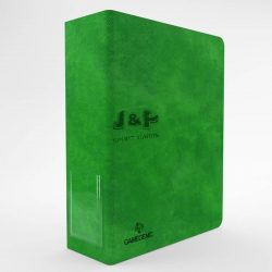 Gamegenic 3 gyűrűs prémium gyűjtőalbum, vastag - zöld