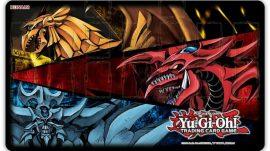 Yu-Gi-Oh! - Slifer, Obelisk, & Ra - game mat - playmat