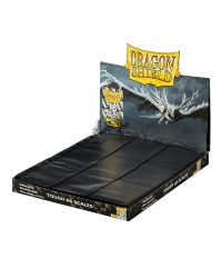 Gamegenic 18 zsebes kártya tartó mappalap 11 lyukú, oldaltöltésű kétoldalas - doboz (matt) - fekete