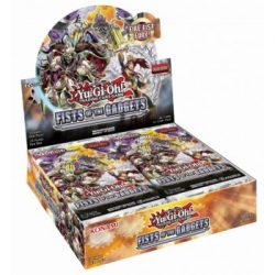 Yu-Gi-Oh! Fists of the Gadgets booster display - doboz