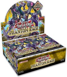 Yu-Gi-Oh! Phantom Rage Booster display - doboz (EN)