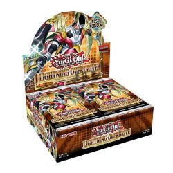 Yu-Gi-Oh! Lightning Overdrive Booster display - doboz