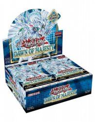 Yu-Gi-Oh! Dawn of Majesty booster display - doboz (EN) yugioh kártya display