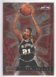 1997-98 Hoops Chairman of the Boards #CB9 Tim Duncan