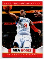 2012-13 Hoops #22 Andre Iguodala