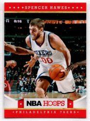 2012-13 Hoops #28 Spencer Hawes