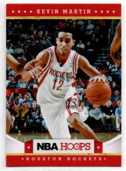 2012-13 Hoops #46 Kevin Martin