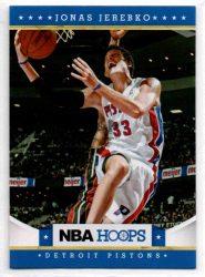 2012-13 Hoops #91 Jonas Jerebko