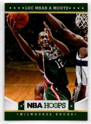 2012-13 Hoops #106 Luc Mbah a Moute