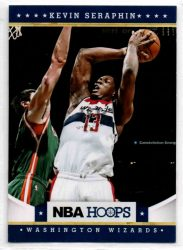 2012-13 Hoops #176 Kevin Seraphin