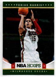 2012-13 Hoops #240 Tobias Harris RC