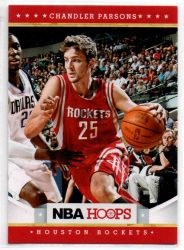 2012-13 Hoops #252 Chandler Parsons RC