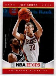 2012-13 Hoops #255 Jon Leuer RC