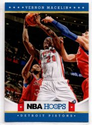 2012-13 Hoops #261 Vernon Macklin RC